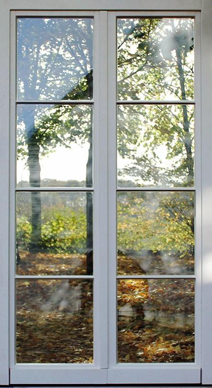 Zweiflugeliges Holzfenster Wiesbaden Mit Wiener Sprossen