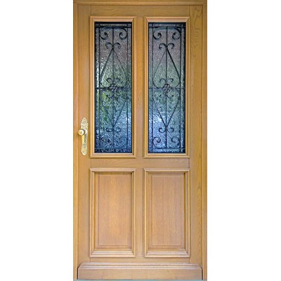 """Eingangstür """"Jeggen"""" aus Holz"""