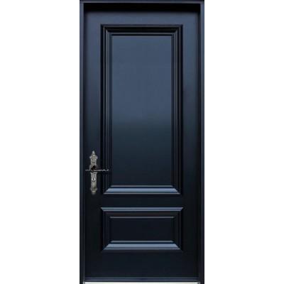 "Eingangstür ""London"" aus Massivholz"