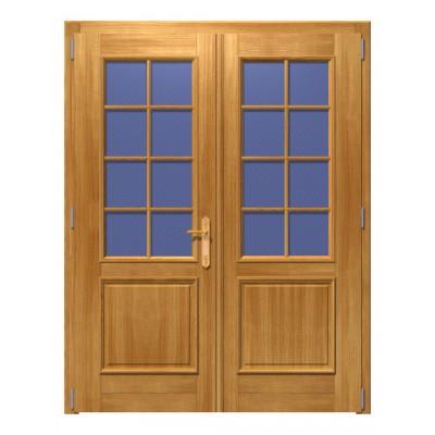 """Klassisches zweiflügelige Haustür aus Holz """"Natbergen"""""""