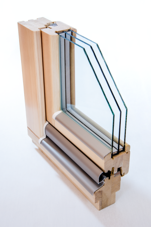 moderne holzfenster mit schmalem rahmen. Black Bedroom Furniture Sets. Home Design Ideas