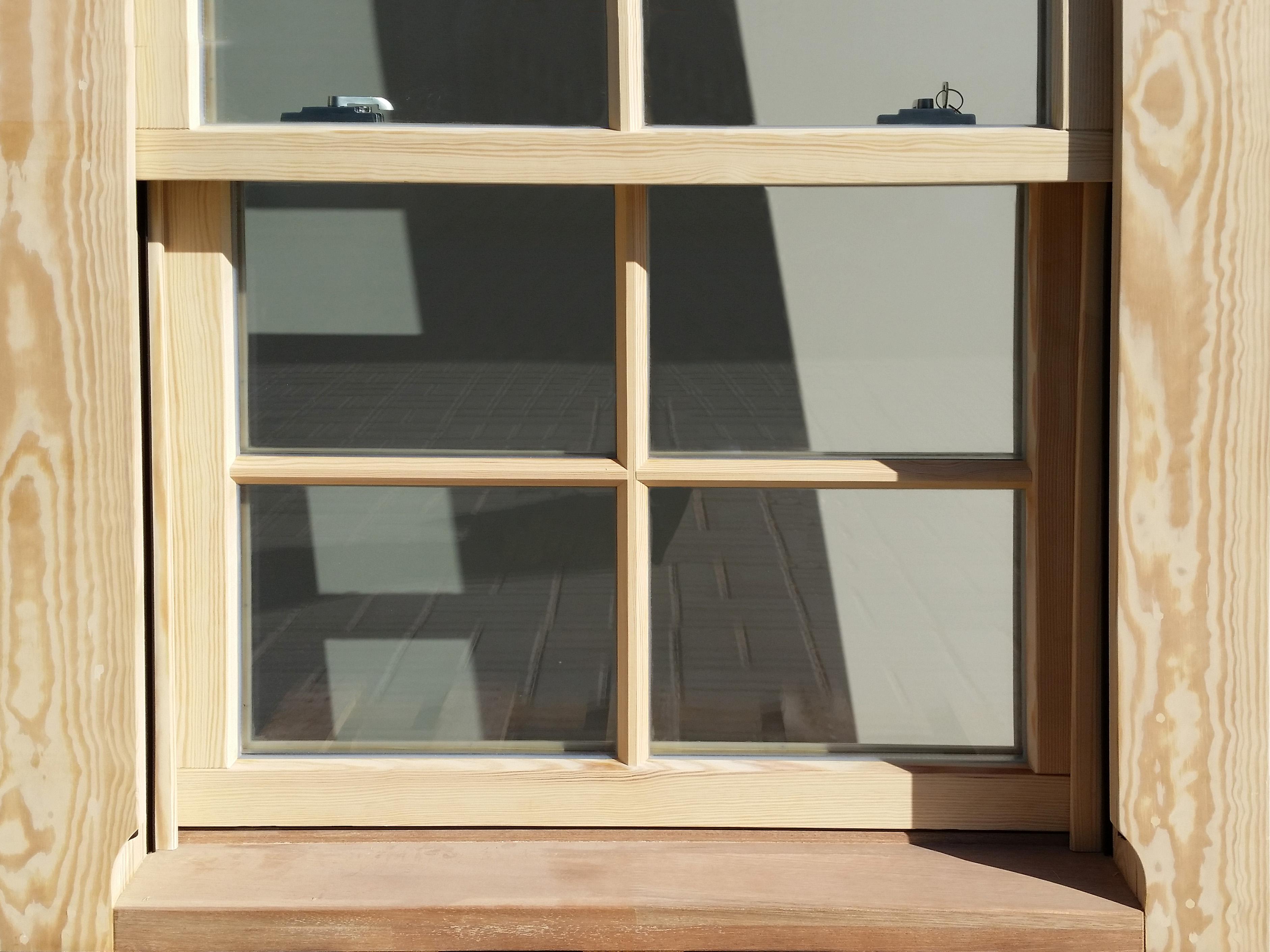 englische vertikal-schiebefenster