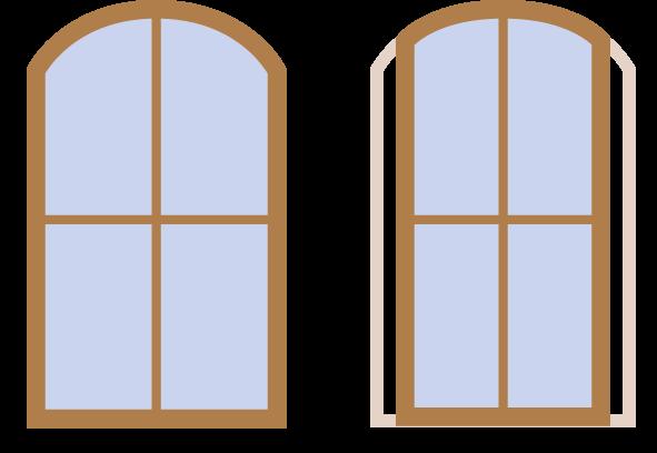 stichbogenrechner f r breiten nderung. Black Bedroom Furniture Sets. Home Design Ideas