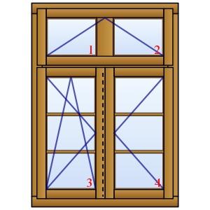 holzfenster hannover zweifl gelig mit oberlicht und sprossen. Black Bedroom Furniture Sets. Home Design Ideas