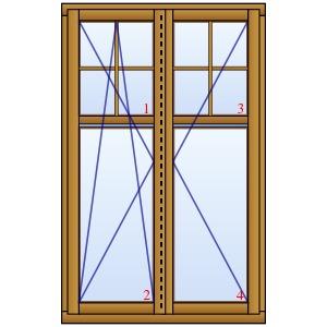 holzfenster k ln zweifl gelig mit angedeutetem oberlicht und sprossen. Black Bedroom Furniture Sets. Home Design Ideas