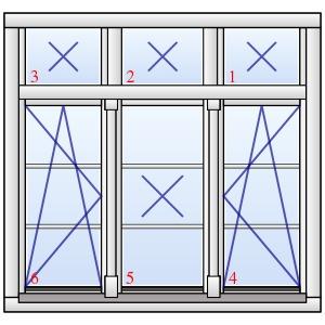 dreifl geliges holzfenster stuttgart mit wiener sprossen. Black Bedroom Furniture Sets. Home Design Ideas