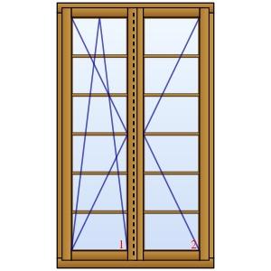 holzfenster hannover als balkon oder terrassent r mit. Black Bedroom Furniture Sets. Home Design Ideas